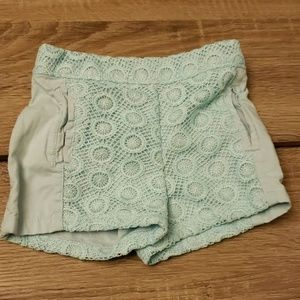 Light Blue Osh Kosh Baby Girl Shorts 12 Mons